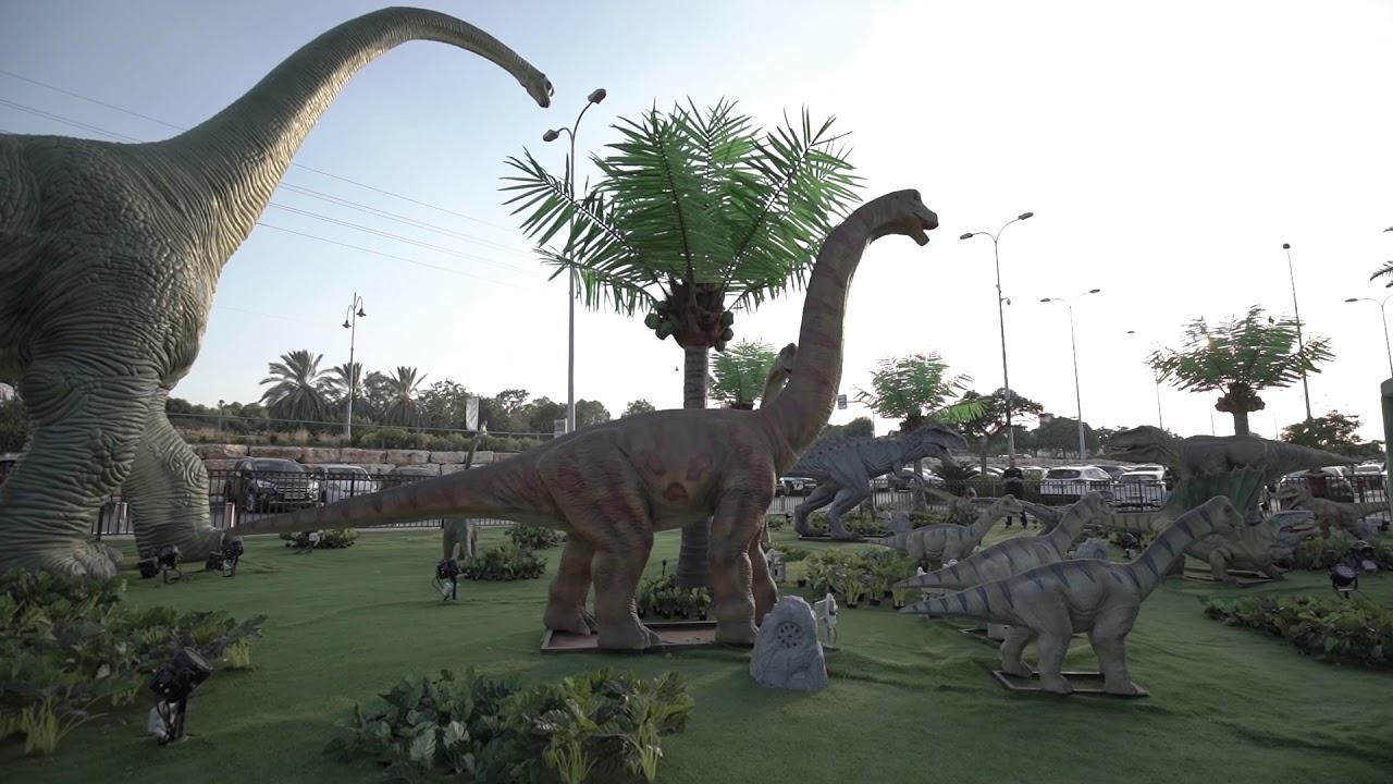"""פארק דינוזאורים החדש של מתחם G CITY ראשל""""צ"""