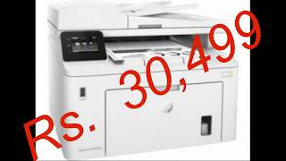 Hp Laserjet Pro Mfp M227fdw All in one Laser Printer Review Complete