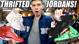 trip to the thrift 113 tons of jordans found lebron 10s and jeremy scott adidas sneaker heaters