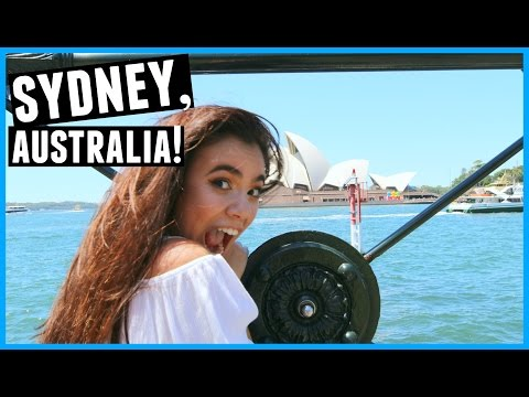MY FIRST DAY IN SYDNEY, AUSTRALIA!!