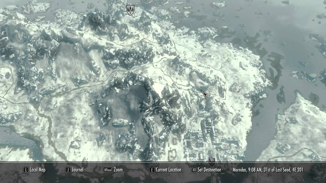 skyrim nexus quality world map Skyrim Mods Daily Quality World Map With Roads Skyrim Mods