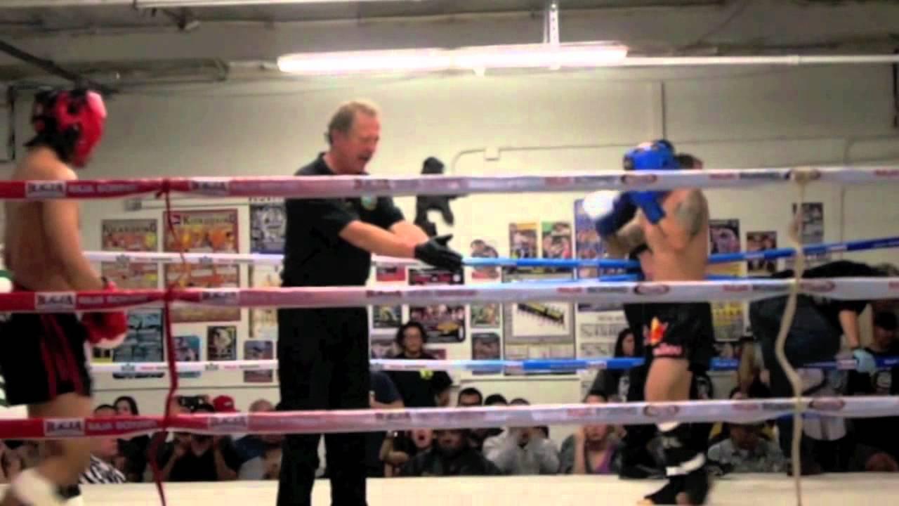 Amateur thai boxing