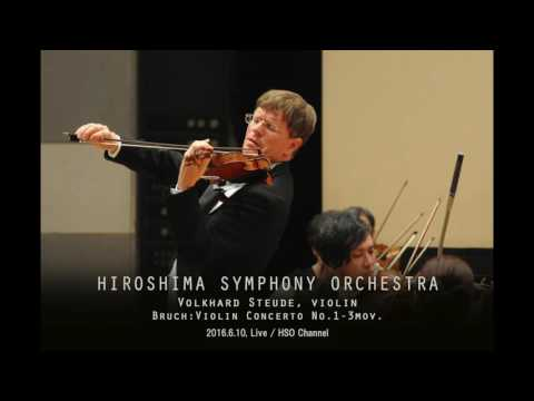 Bruch: Violin Concerto No.1 in G minor Op.26 - 3mov.=LIVE=HIROSHIMA SYMPHONY ORCHESTRA