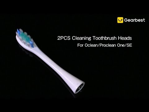 2PCS Oclean / Proclean SE / One Replacement Brush Heads For Electric Sonic Toothbrush - Gearbest.com