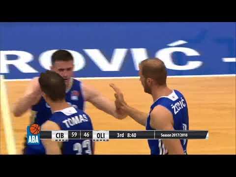 ABA Liga 2017/18 highlights, Round 2: Cibona - Petrol Olimpija (5.10.2017)