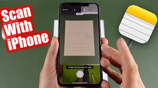 How To Scan Documents On iPhone, iPhone 11, 8, 6s, SE or iPad screenshot 5