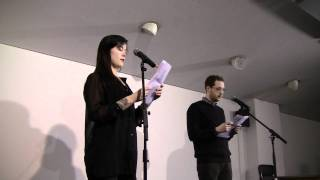 Held at the rich mix centre on february saturday 11th 2012, second in maintenant camarade series saw eleven pairings of british based poets produce o...