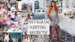 INSTAGRAM SECRETS AND TIPS! HOW I EDIT MY PHOTOS! ALEXANDREA GARZA