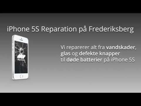 iPhone 5S Reparation på Frederiksberg - MacVision.dk