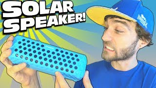 Bluetooth SPEAKER with SOLAR PANEL!!! Any Good? EXO's Dreamix T60 Review | CHEAP & SUN Powered