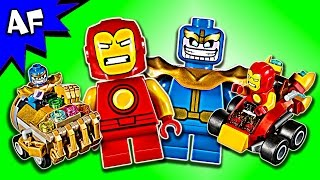 Lego Marvel Mighty Micros IRON MAN vs THANOS 76072 Speed Build