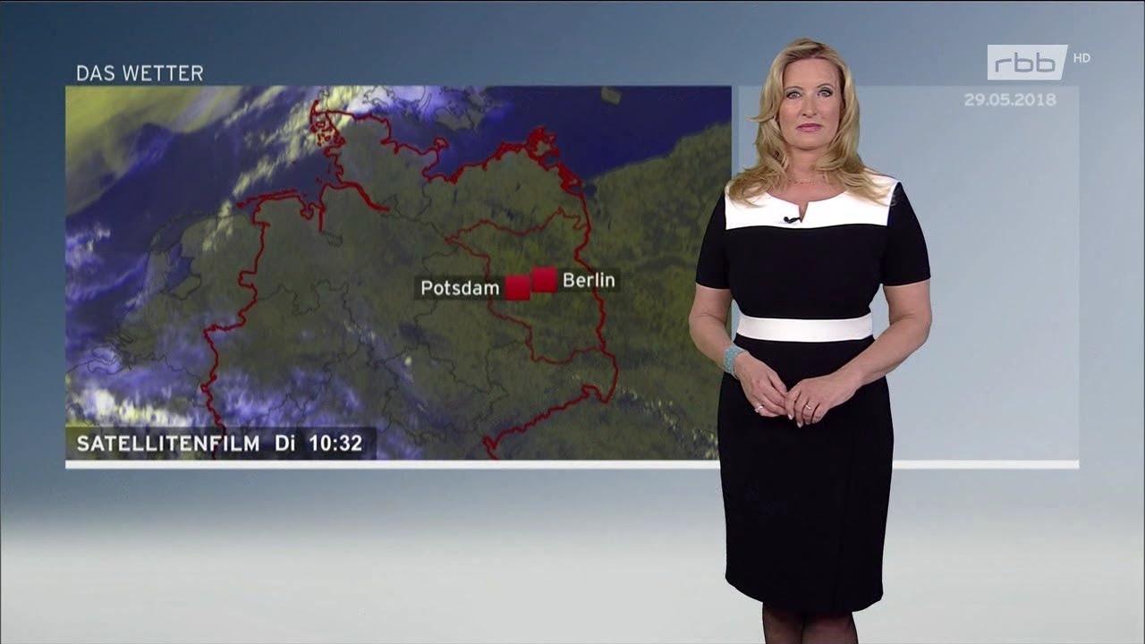 Claudia Kleinert RBB-Wetter 29-05-2018 HD #1