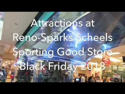 Attractions At Reno Sparks Scheels Fish Ferris Wheel Youtube