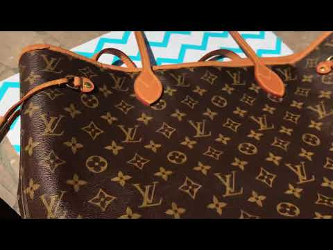 How to Spot Authentic LOUIS VUITTON NEVERFULL MM BAG & Where to FIND DATE CODE!