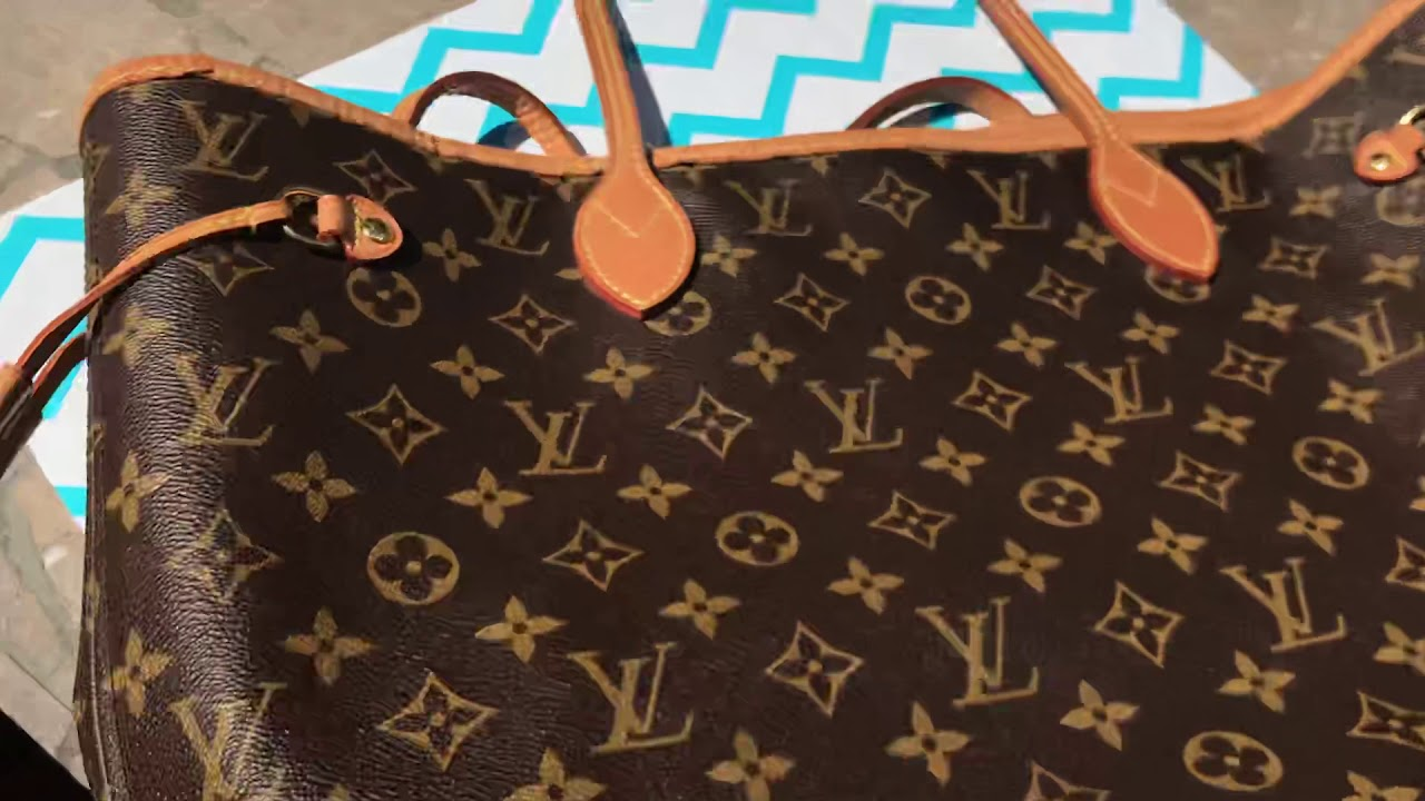 933b2e1b4e86 How to Spot Authentic LOUIS VUITTON NEVERFULL BAG   Where to FIND DATE CODE!