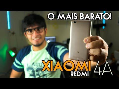 O SMARTPHONE MAIS BARATO DA XIAOMI - REDMI 4A R$339 (REVIEW)