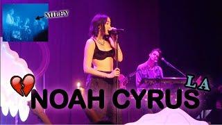 CRAZY NOAH CYRUS LA CONCERT!!! **MILEY CYRUS WAS THERE**