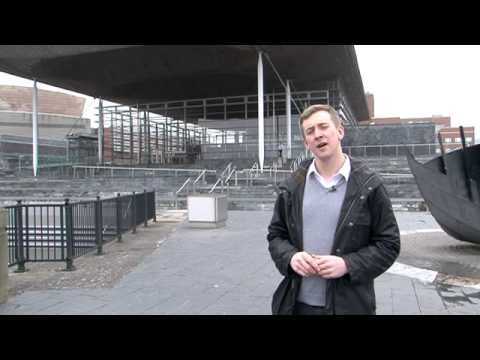 Welsh Assembly Piece to Camera