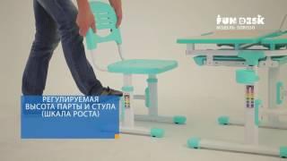 видео Выбор письменного стола для школьника, параметры  письменного стола для ребенка