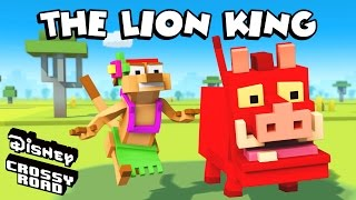 Disney Crossy Road | The Animated Series | Timon and Pumbaa