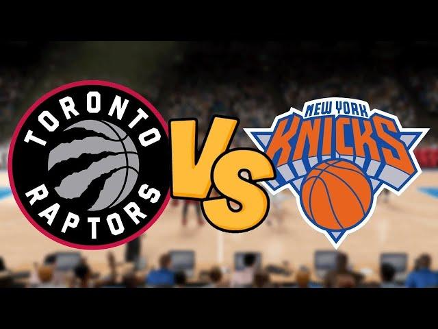Toronto Raptors vs New York Knicks Play by Play & Reaction