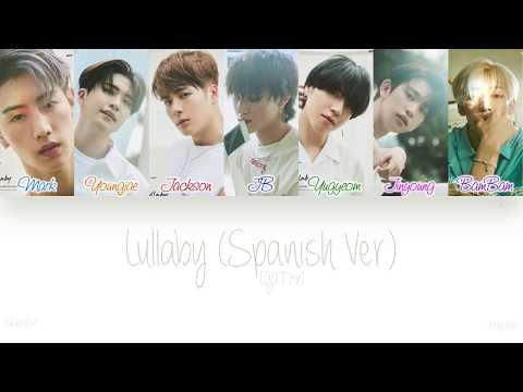 [ESP|ENG] GOT7 (갓세븐) - Lullaby (Spanish Ver.) (Color Coded Lyrics)