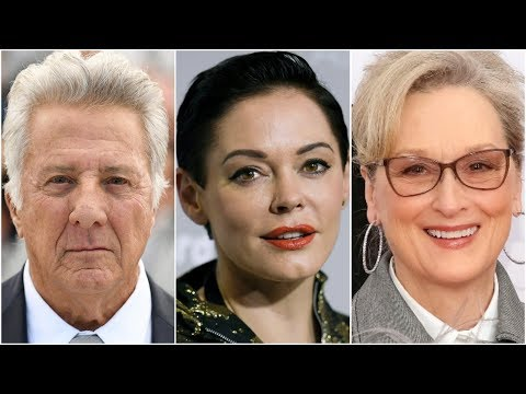 Dustin Hoffman accusers speak out, Rose McGowan rails against Meryl Streep