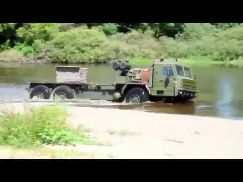 Industrie Russland   BAZ 6402 6x6 All Wheel Drive Truck 720p