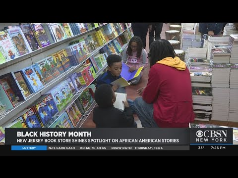 New Jersey Bookstore Shines Spotlight On African-American Stories