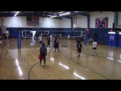 Thunderbird Adventist Academy Boys Volleyball vs. MHP 3/12/19 Part 1
