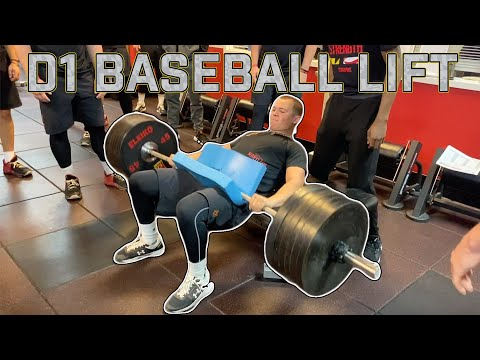 What Happens at a College Baseball Workout? 7:30 A.M. Lift With Maryland Baseball