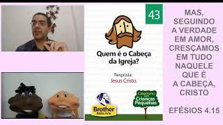 Catecismo para Crianças Pequenas - Pergunta 43