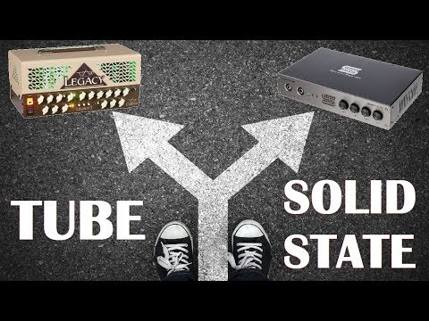 My experience using Solid State and Tube Amps with Line 6 Helix