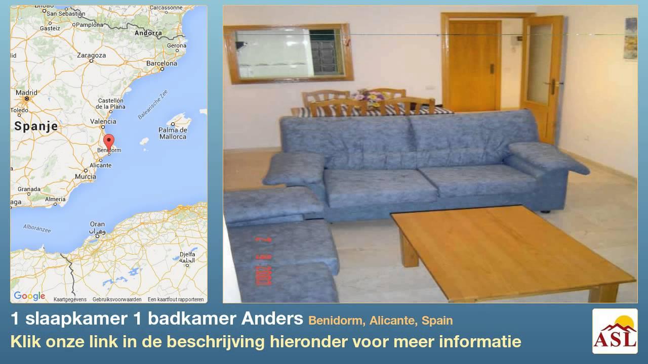 1 slaapkamer 1 badkamer Anders te Koop in Benidorm, Alicante, Spain ...