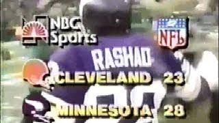 Minnesota Vikings Miracle At The Met Dec.14th 1980