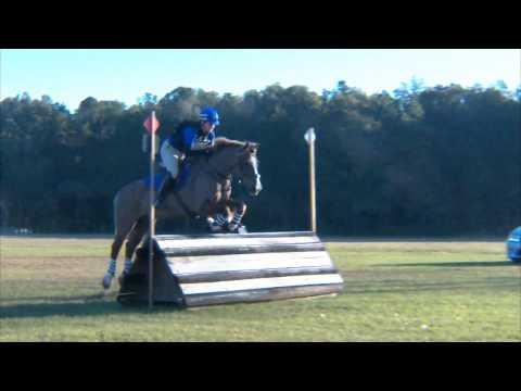 """Amy Walters  """"Solstice Regal Rum""""  Ocala Horse Trials at Florida Horse Park,  XC/OT, 1/8/2017"""