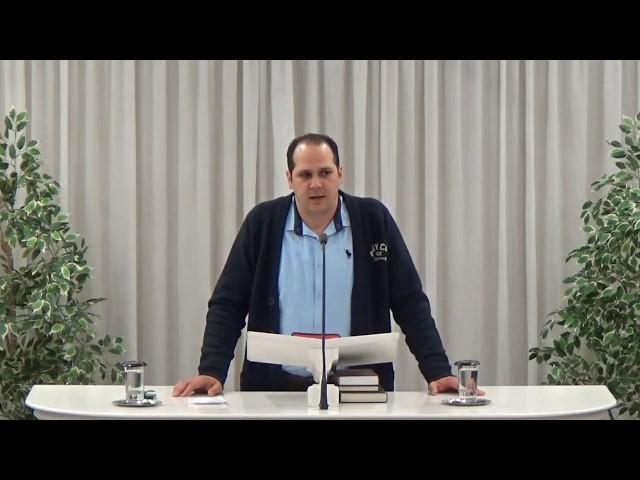 Ανδρέας Τζανής 21-12-2018 | Α' Πέτρου α' 3-25