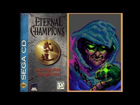 Eternal Champions: Challenge from the Dark Side (Sega CD) - Xavier Playthrough (Warrior)