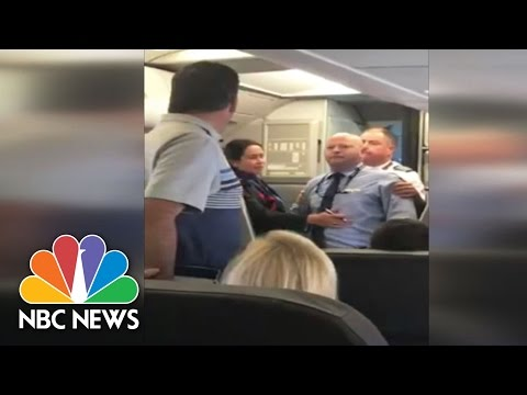 American Airlines Flight Attendant Suspended After Incident Caught On Camera