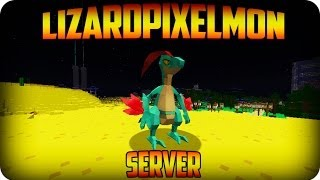 Minecraft Pixelmon : Lizard Pixelmon Server -  Ep 4- PARKOUR PROS!