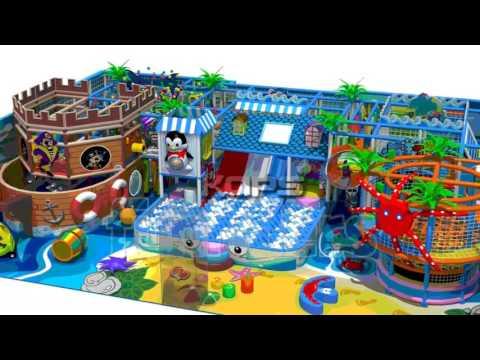 Childrens Indoor Playground Structure - Supplier And Manufacturer