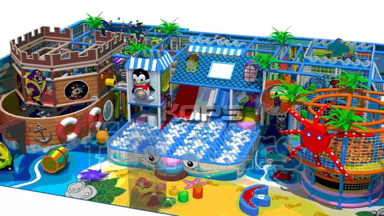 Childrens Indoor Playground Structure - Supplier and Manufacturer ...