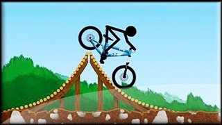 Stickman Freeride - Flash Game Preview