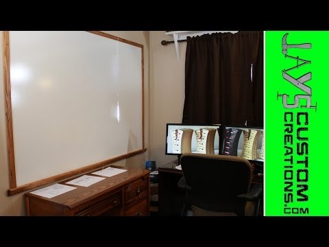 HUGE Home Made Dry Erase Board For $20 - 114