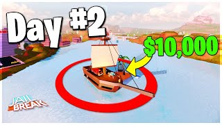 LAST TO LEAVE THE PIRATE SHIP WINS $10,000 ROBUX - ROBLOX CHALLENGE - ROBLOX CHALLENGE