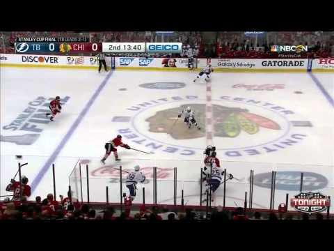 Chicago Blackhawks vs Tampa Bay Lightning SCF Game 4 Highlights