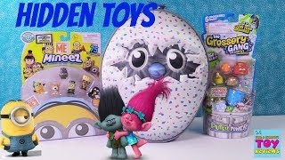 Hatchimals Surprise Lunchbox Disney Trolls Roblox Shopkins Toy Review | PSToyReviews