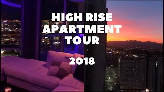 MY HIGH RISE APARTMENT TOUR 2018 | MADISON GINLEY