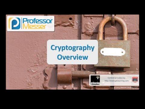 Cryptography Overview - CompTIA Security+ SY0-401: 6.1