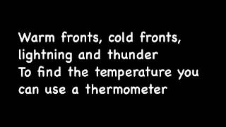 2nd grade the weather song